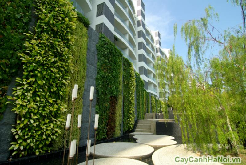Khu đô thị Sentosa được thiết kế vườn đứng độc đáo