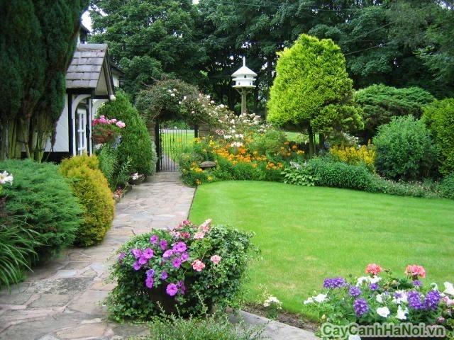 Thiết kế sân vườn hợp cung và mệnh