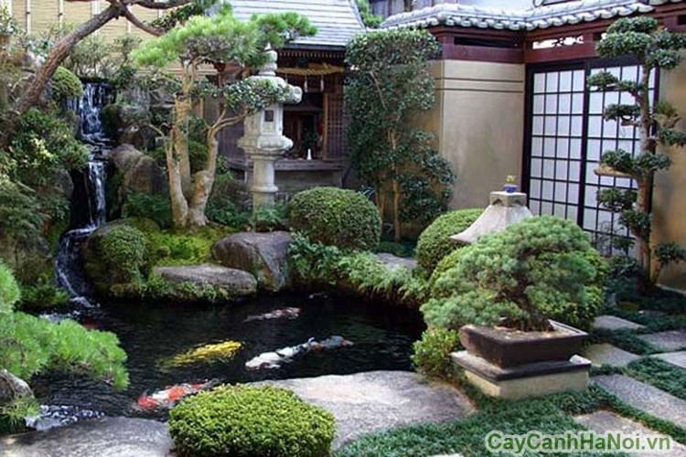 Sân vườn phong cách Nhật