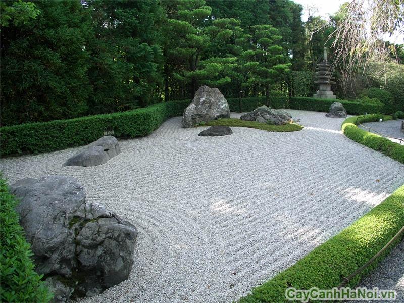 Không gian sân vườn Nhật lôi cuốn, bí ẩn