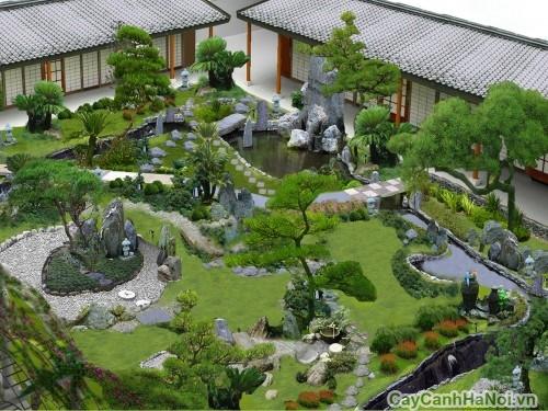 Thiết kế cảnh quan mang phong cách Nhật Bản