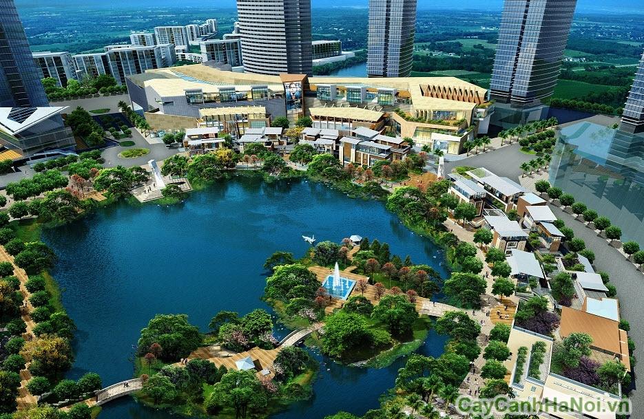 thiết kế đô thị xanh giảm lượng khí thải
