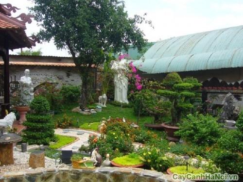 Thiết kế sân vườn cần lưu ý tới yếu tố phong thủy