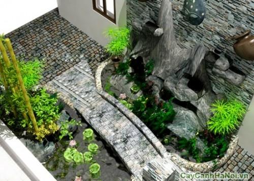 Tiểu cảnh nhà phố giúp bạn gần gũi thiên nhiên