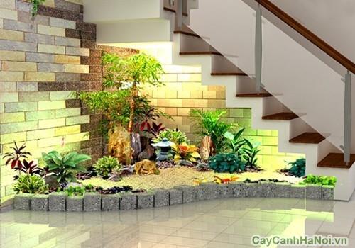 Thiết kế tiểu cảnh trong nhà cần lưu ý yếu tố phong thủy