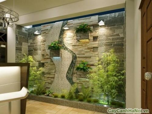 Vườn đứng - sáng tạo khi thiết kế tiểu cảnh trong nhà