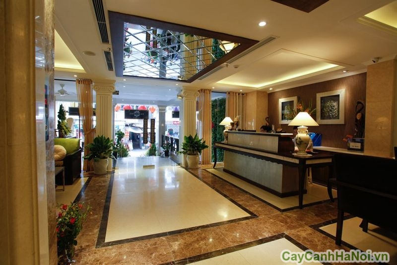 không gian bên trong khách sạn