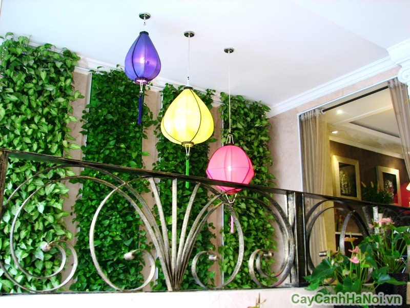 Vườn đứng tại khách sạn