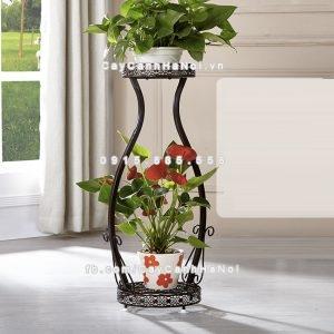 Giá kệ trang trí cây hoa kiểu dáng lọ hoa
