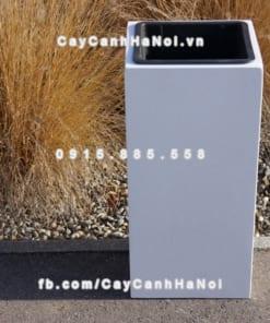 Chậu cây cảnh composite iPot vuông sang trọng ( IP-00017 )