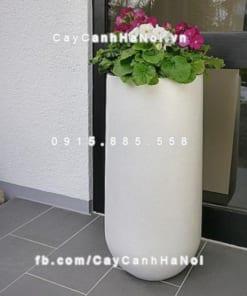 Chậu composite iPot tròn cao cấp ( IP-00037)