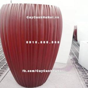 Chậu nhựa composite iPot sang trọng ( IP-00107)