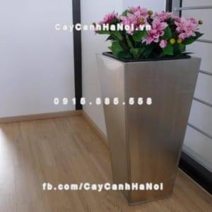 Chậu nhựa trồng cây composite iPot sang trọng ( IP-00073 )