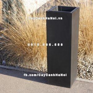 Chậu nhựa trồng cây composite iPot vuông ( IP-00177 )